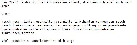 Zauberwuerfel Anleitung 22er 7.1.1998