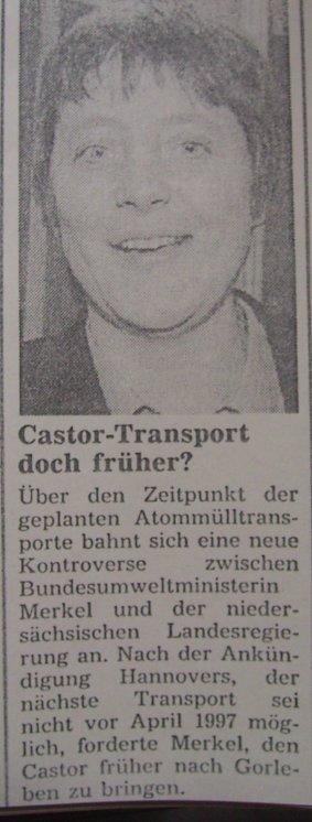Nicht vergessen! Merkel 1997
