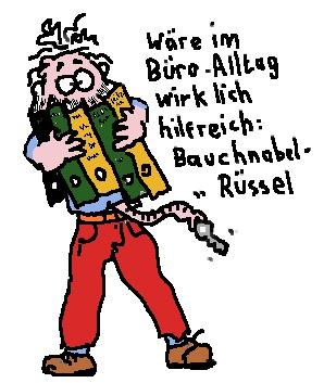 Bauchnabel-Ruessel