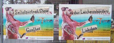Selbstportrait-Show Gunther Liebchen